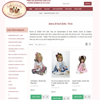 Judys' Dolls Online Doll Store