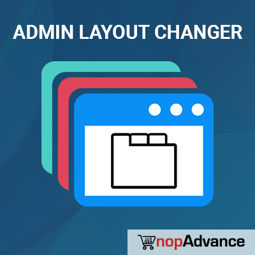 Admin Layout Changer (By NopAdvance) の画像