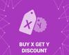 Discount rule Buy X Get Y (foxnetsoft.com) の画像