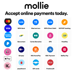 Mollie Payment Plugin の画像