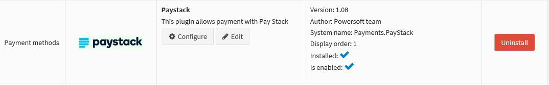 Paystack Payment Plugin の画像