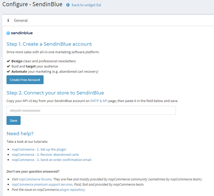 Picture of Sendinblue - all email marketing tools you need