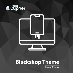 Изображение Black Shop Theme by nopCypher