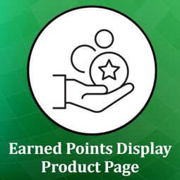 Picture of Earned Points Displayer on product page