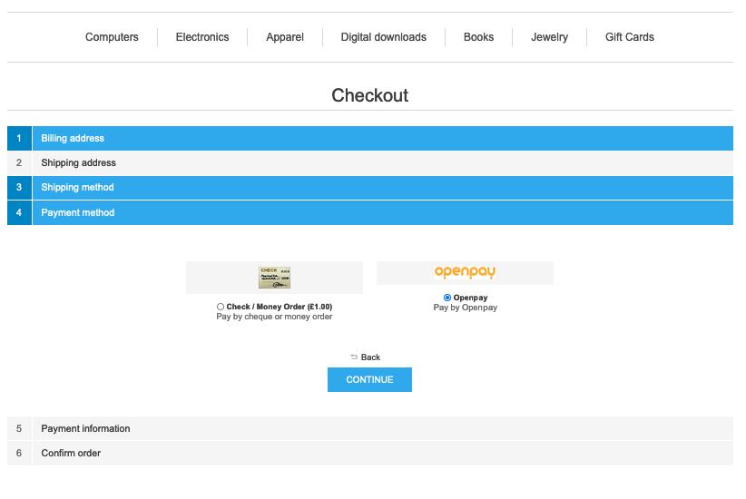 Imagem de Openpay Buy Now Pay Later (BNPL) Payments Module
