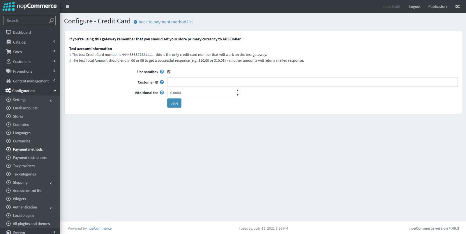 图片 eWay payment module