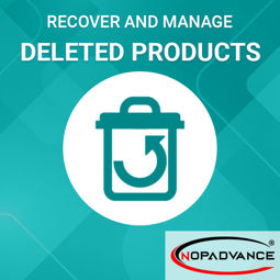 Picture of Manage Deleted Products (By NopAdvance)