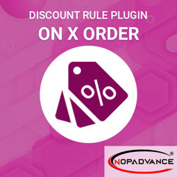 Image de Discount Rule - On x Order (By NopAdvance)